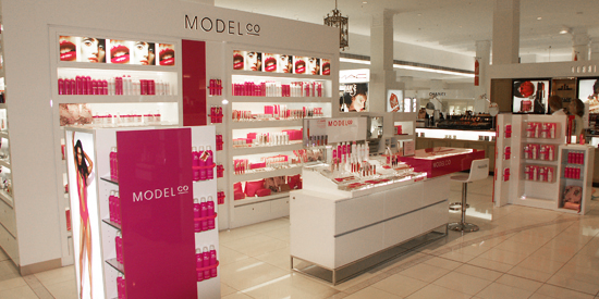 ModelCo Cosmetics David Jones, Melbourne